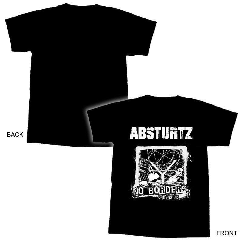 Absturtz- No Borders...T-Shirt  - XL