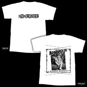 Ausbruch-Harte Zeiten T-Shirt -white - XL
