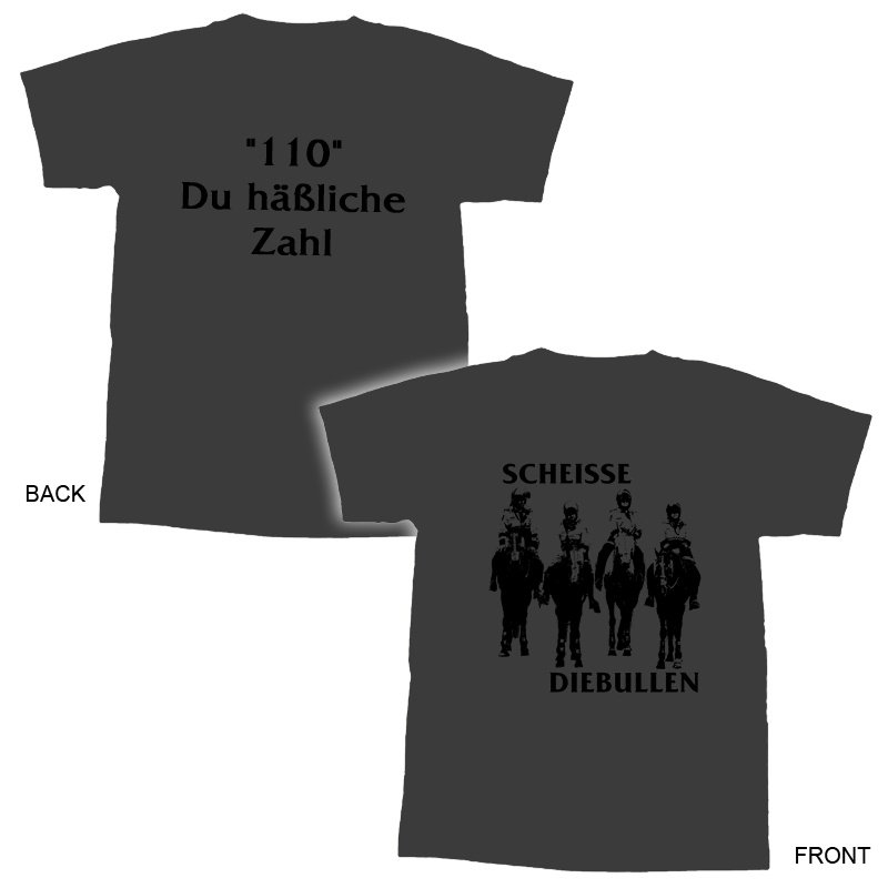 ScheisseDieBullen - 100 Du häßliche Zahl TS-M