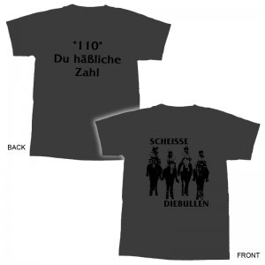 ScheisseDieBullen - 100 Du häßliche Zahl TS-XXL