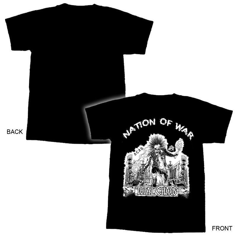 TOTAL CHAOS-Nation of War TS - XL