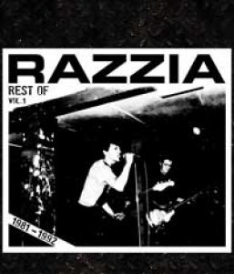 Razzia - Rest of 1981-1990 Vol. 2 LP