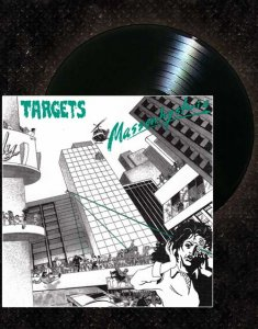 Targets- Massenhysterie LP ( Black )