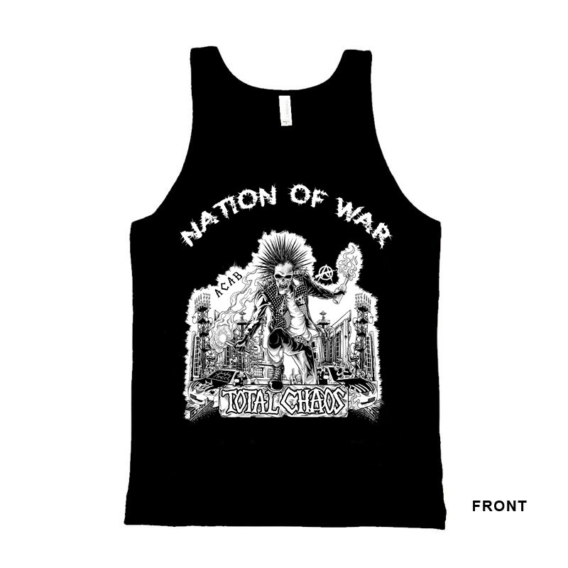 TOTAL CHAOS-Nation of War - Tank Top-L