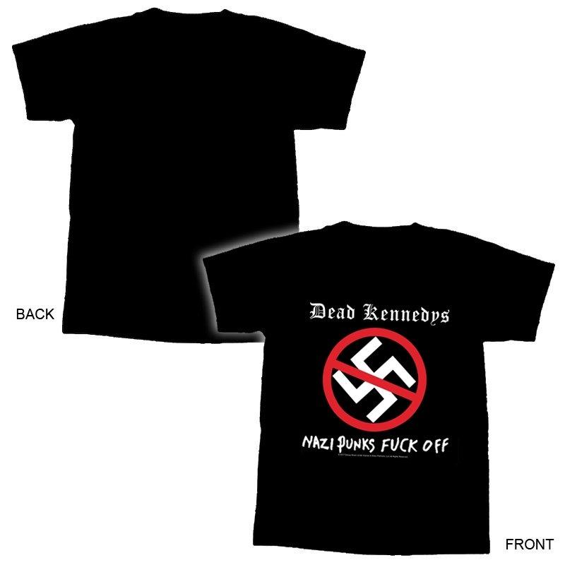 Dead Kennedys - Nazi Punks fuck off TS - L