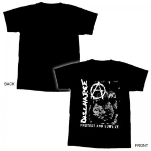 DISCHARGE - Prostest & Survive T-Shirt-M
