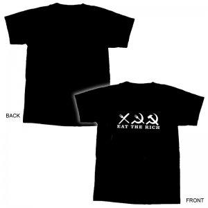EAT THE RICH T-Shirt - XL