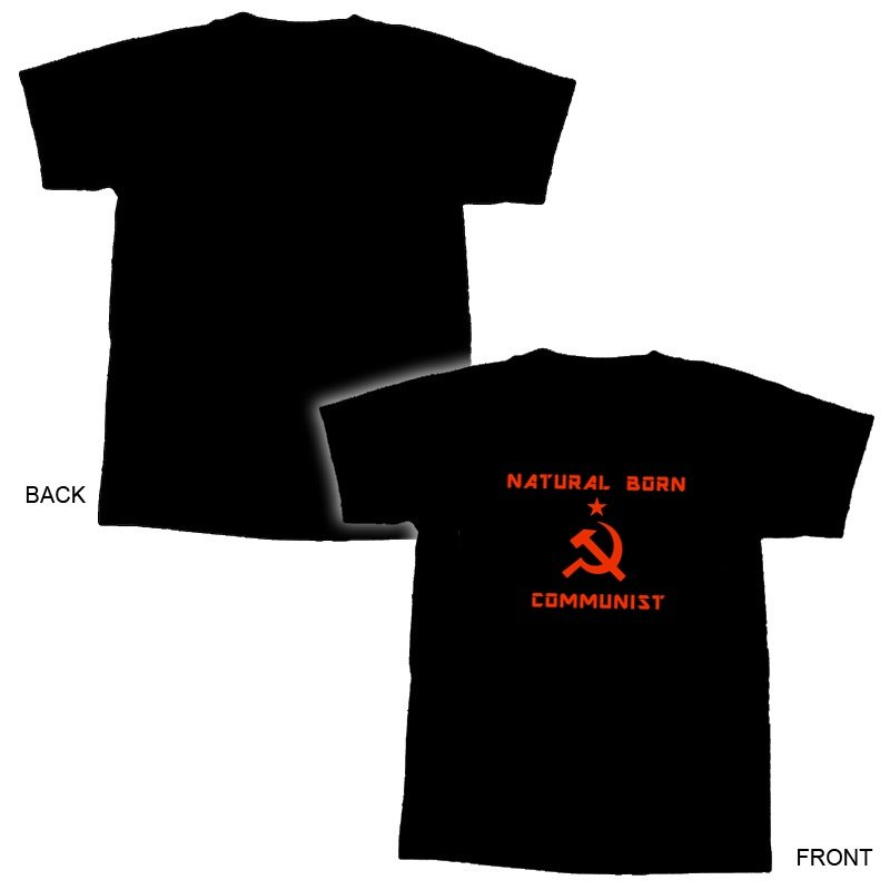 Natural Born Communist T-Shirt - L