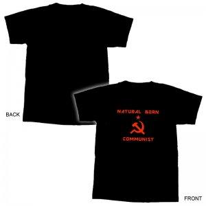 Natural Born Communist T-Shirt - XL