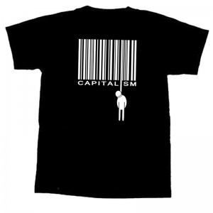 CAPITALISM- T-Shirt - L