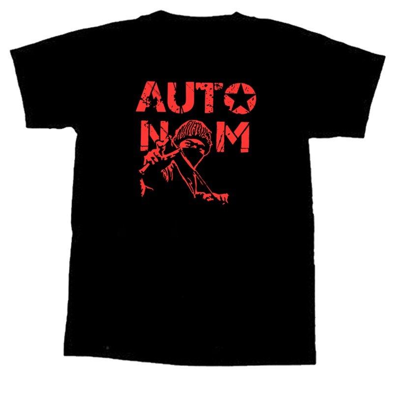 Autonom - T-Shirt - M ( Roter Druck )
