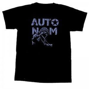 Autonom - T-Shirt - M ( SILVER PRINT )
