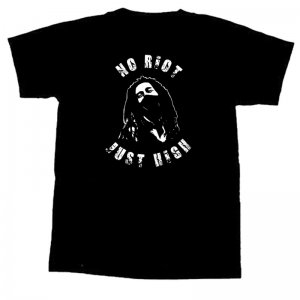 NO RIOT , JUST HIGH - T-Shirt - L