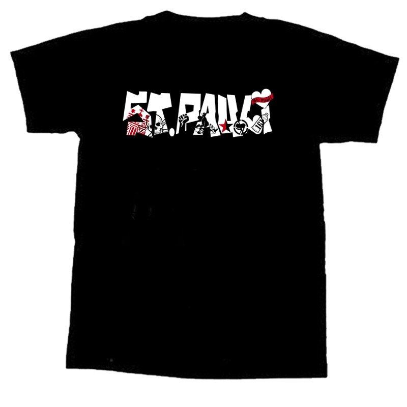 ST.PAULI- Logo ANTIFA T-Shirt - XL