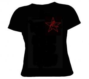 Zwille-Stern -Girlie Shirt - S