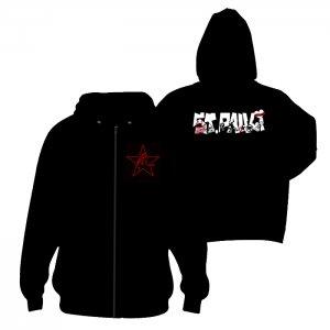 ST.PAULI- Logo ANTIFA  + STERN - Zipper- M