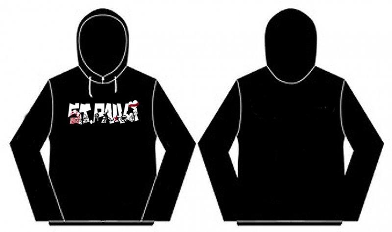 St.Pauli- Antifa Hoodie - L