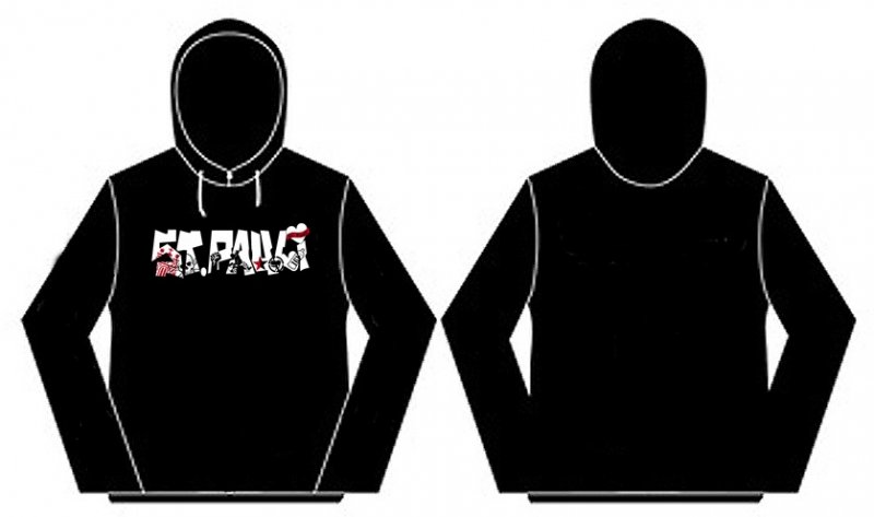 St.Pauli- Antifa Hoodie - XXL