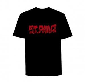 St.Pauli-Stadtteil Rot T-Shirt